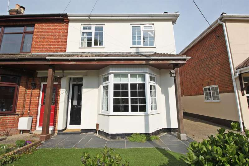 4 Bedrooms Semi Detached House for sale in Woolston Road, Butlocks Heath, Southampton, SO31 5FJ