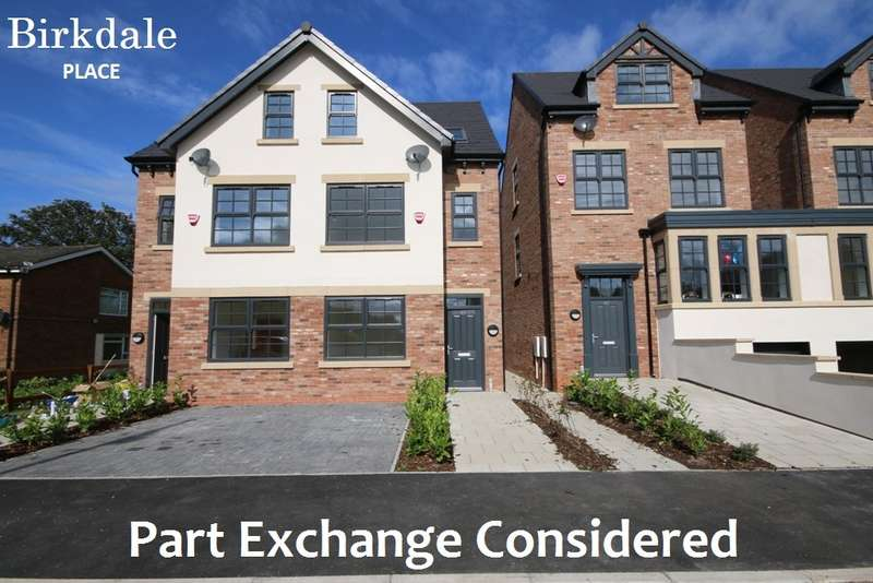 4 Bedrooms Semi Detached House for sale in Plot 2, Birkdale Place, 44 Warren Court