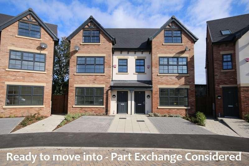 4 Bedrooms Semi Detached House for sale in Plot 7, Birkdale Place, 39 Warren Court