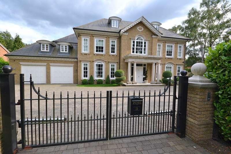 6 Bedrooms Detached House for sale in Ince Road, Burwood Park, Walton-On-Thames, KT12