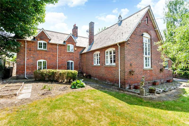 4 Bedrooms Detached House for sale in Ogbourne St. Andrew, Marlborough, Wiltshire, SN8
