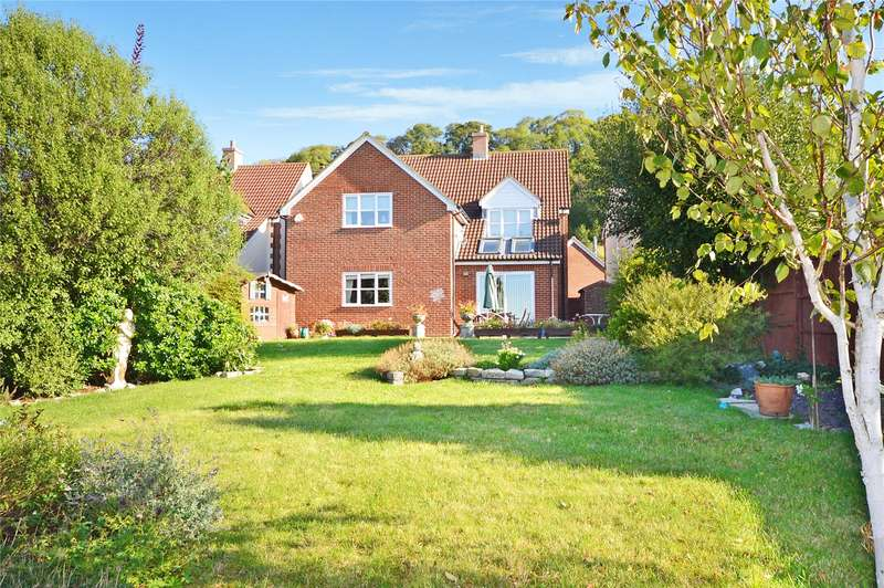 4 Bedrooms Detached House for sale in Keirle Mews, Aller, Langport, Somerset, TA10