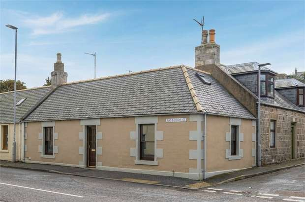 2 Bedrooms End Of Terrace House for sale in High Street East, Portgordon, Buckie, Moray