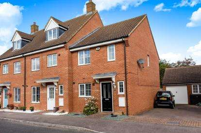 3 Bedrooms End Of Terrace House for sale in St. Johns Road, Arlesey, Beds, England