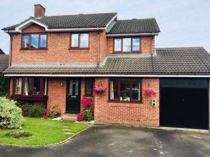 House for sale in Ashley Meadow, Haslington, Crewe, Cheshire