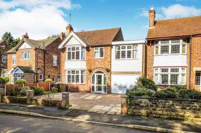 5 Bedrooms Detached House for sale in Sutton Passeys Crescent, Wollaton, Nottingham, Nottinghamshire