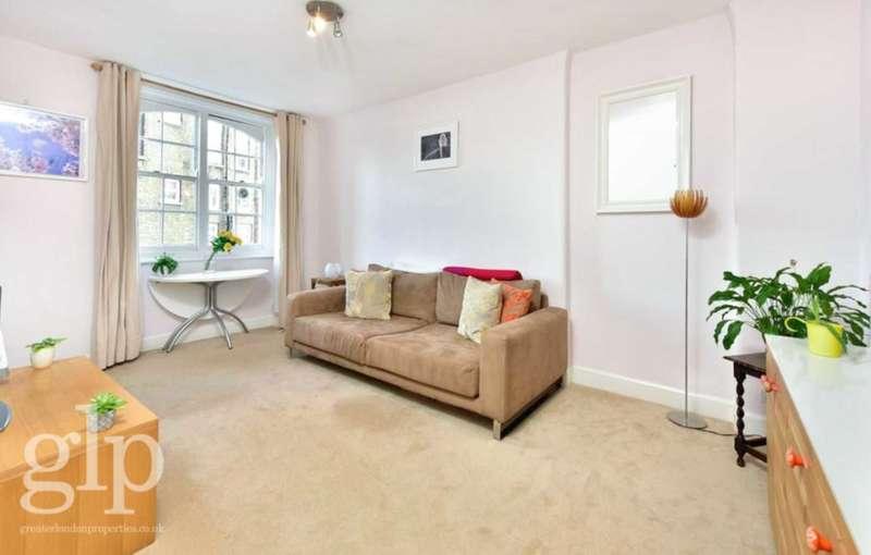 1 Bedroom Flat for sale in Tonbridge Street, London, WC1H