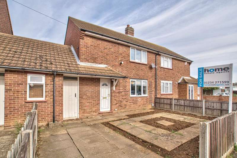 2 Bedrooms Semi Detached House for sale in Collins Place, Bedford, MK42 0ND