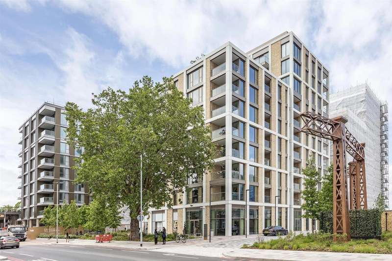 2 Bedrooms Flat for sale in Kensington House, Prince of Wales Drive, London, SW8