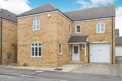 4 Bedrooms Detached House for sale in Manor Farm Crescent, Bradley Stoke, Bristol, Gloucestershire