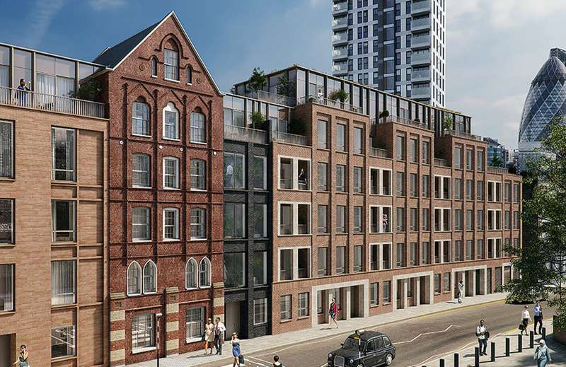 2 Bedrooms Apartment Flat for sale in Commercial Street, London E1