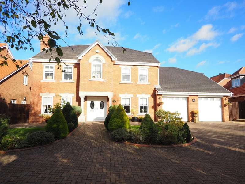 5 Bedrooms Detached House for sale in Monkton Rise, Guisborough TS14