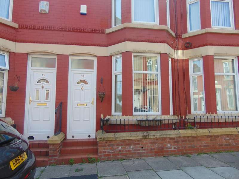 2 Bedrooms Terraced House for sale in Clifford Street, Birkenhead CH41