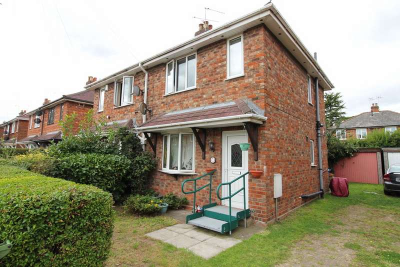 2 Bedrooms Semi Detached House for sale in Queensfield, Gainsborough DN21