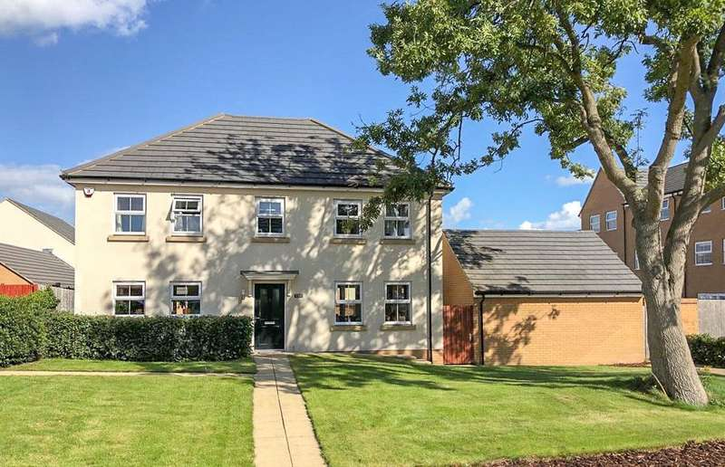 4 Bedrooms Detached House for sale in Broad Croft, Charlton Hayes, Patchway BS34
