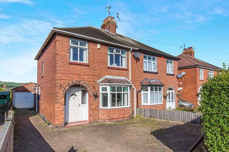 3 Bedrooms Semi Detached House for sale in Moorfield Avenue, Biddulph, Stoke-on-Trent, Staffordshire, ST8