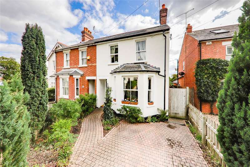 3 Bedrooms Semi Detached House for sale in Evendons Lane, Wokingham, Berkshire, RG41