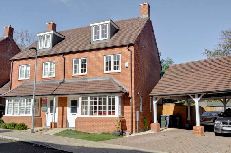 3 Bedrooms Semi Detached House for sale in Clayton Road, Lane End