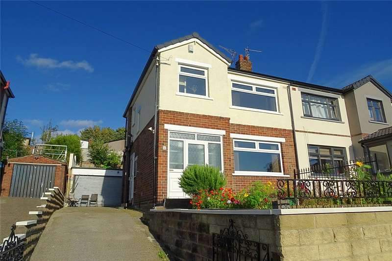 3 Bedrooms Semi Detached House for sale in Queens Avenue, Bradford, West Yorkshire