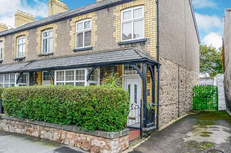 3 Bedrooms End Of Terrace House for sale in Water Street, Abergele, Conwy, LL22