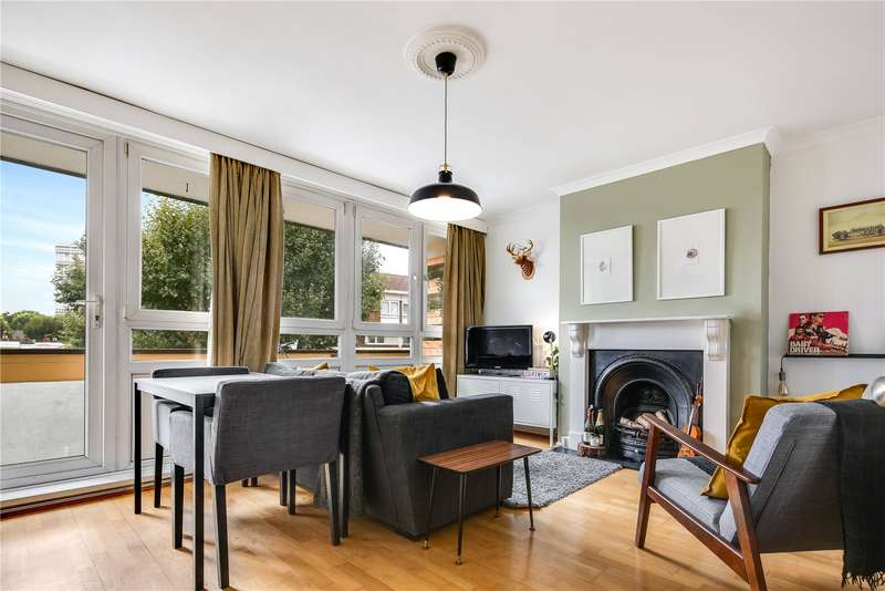 2 Bedrooms Flat for sale in Fairfoot Road, Bow, London, E3