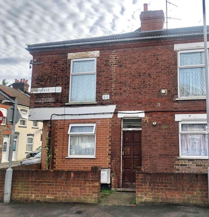 Studio Flat for sale in Granville Road, Luton, Bedfordshire, LU1 1PA