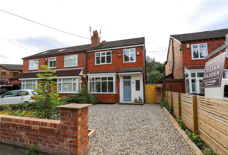 3 Bedrooms Semi Detached House for sale in Crossfield Grove, Woodsmoor, Stockport, SK2