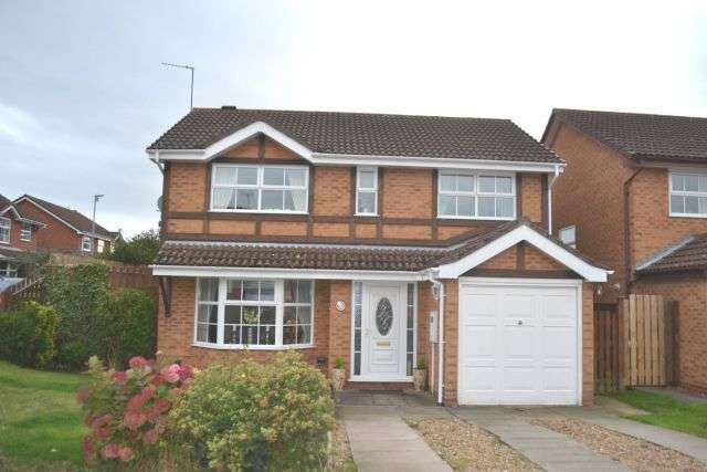 4 Bedrooms Detached House for sale in Peppercorn Way, East Hunsbury, Northampton NN4 0TT