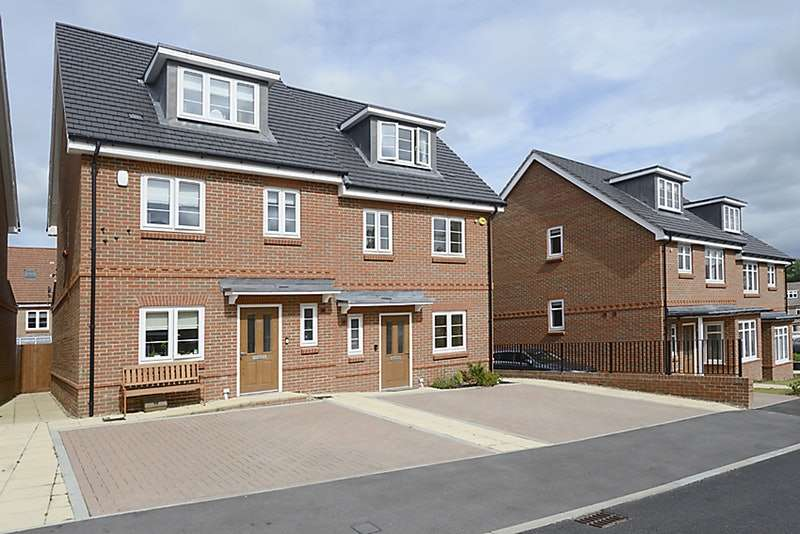 4 Bedrooms Semi Detached House for sale in Repton Crescent, Reading, Berkshire, RG6
