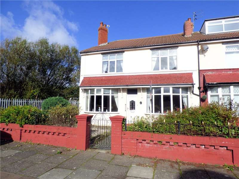 3 Bedrooms End Of Terrace House for sale in Thames Road, Blackpool, Lancashire