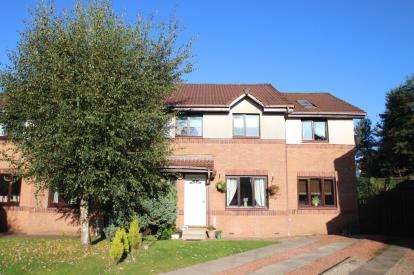 4 Bedrooms Semi Detached House for sale in Earlshill Drive, Howwood