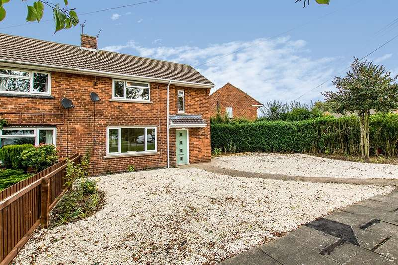 2 Bedrooms Semi Detached House for sale in Scampton Avenue, Lincoln, Lincolnshire, LN6
