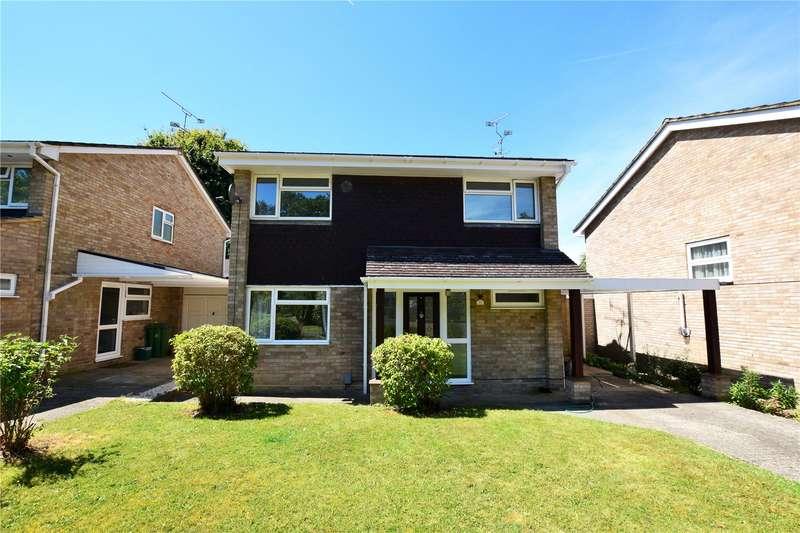 4 Bedrooms Detached House for rent in Cherrydale Road, Camberley, Surrey, GU15