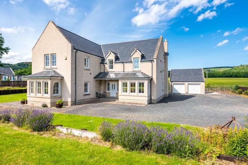5 Bedrooms Detached House for sale in Colzey House, Dunbog, Cupar, Fife, KY14