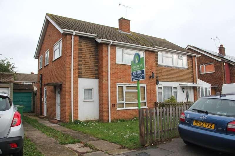 3 Bedrooms Semi Detached House for sale in Laburnum Grove, Slough, SL3