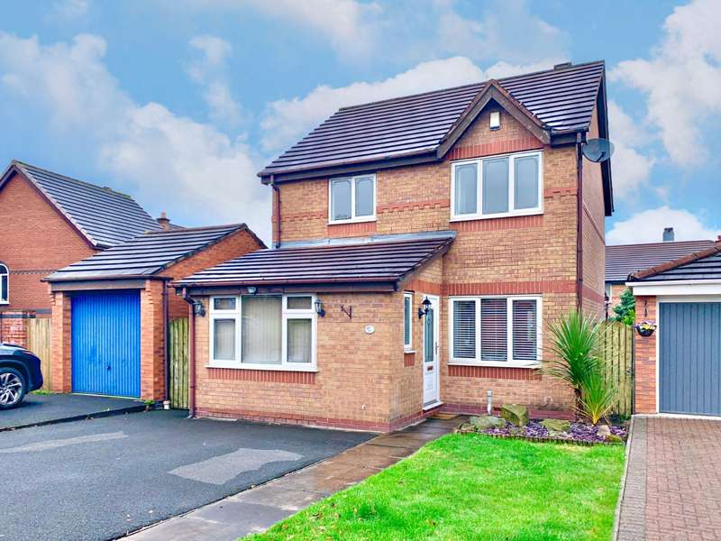 3 Bedrooms Detached House for sale in Buckland Drive, Wigan, Greater Manchester, WN5