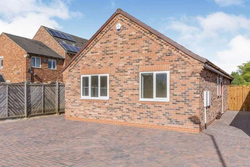 2 Bedrooms Detached Bungalow for sale in Ashcroft Close, Edlington, Doncaster, South Yorkshire, DN12
