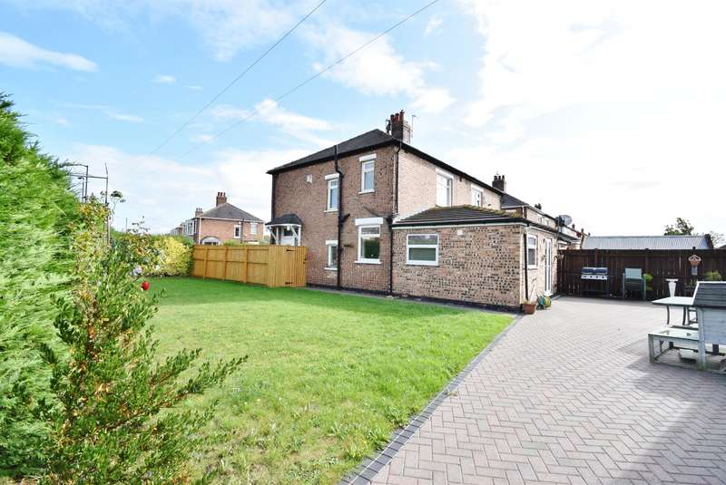 3 Bedrooms Semi Detached House for sale in Stoneleigh Avenue, Acklam, Middlesbrough, TS5 8AR