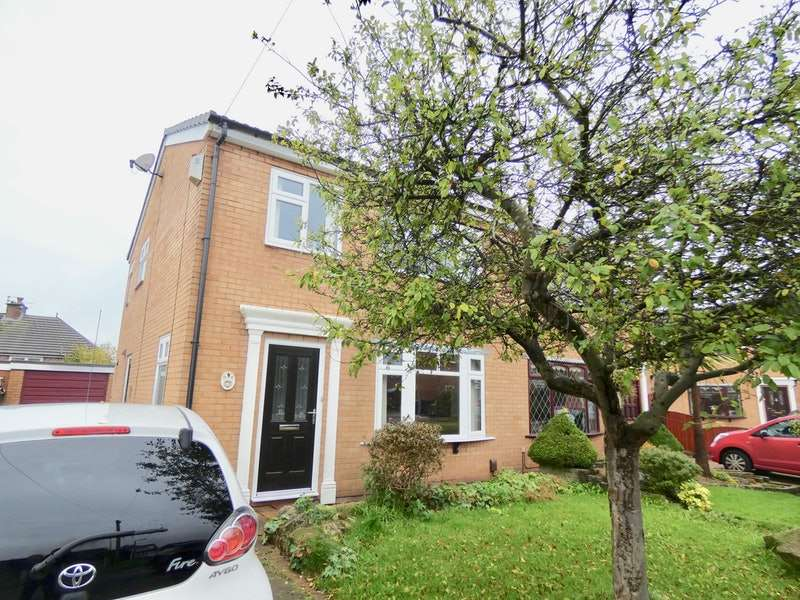 3 Bedrooms Semi Detached House for sale in Redmayne Close, Newton-le-Willows, Merseyside, WA12