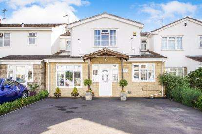 4 Bedrooms Terraced House for sale in Court Meadow, Stone, Berkeley