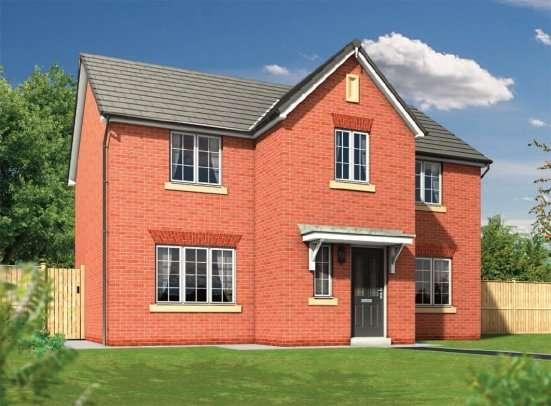 4 Bedrooms Detached House for sale in Plot 115 The Haversham, Calder View, Daniel Fold Lane, Catterall, PR3