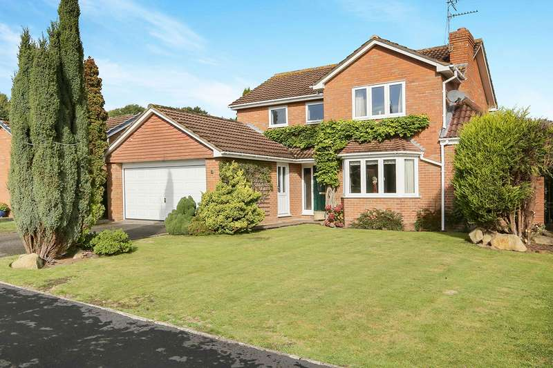4 Bedrooms Detached House for sale in Turnberry Close, Wolverhampton, West Midlands, WV6