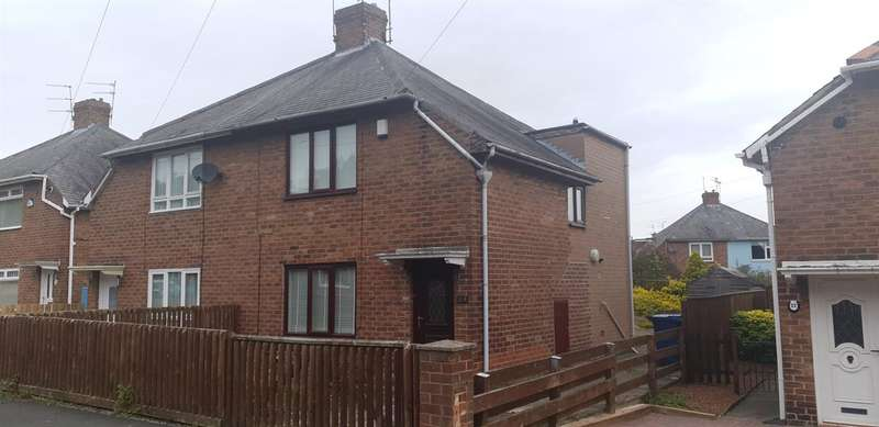 2 Bedrooms Semi Detached House for sale in Farnon Road, Gosforth, Newcastle upon Tyne