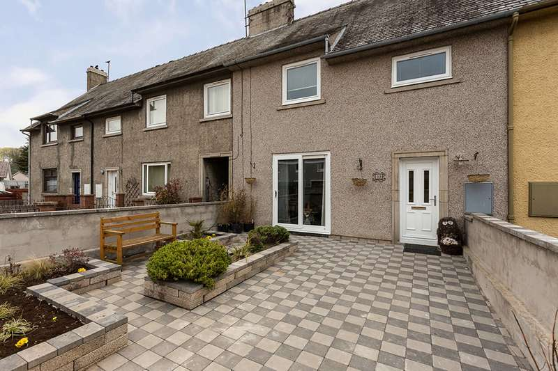 3 Bedrooms Terraced House for sale in Lochend Road, Carnoustie, Angus, DD7 7QD