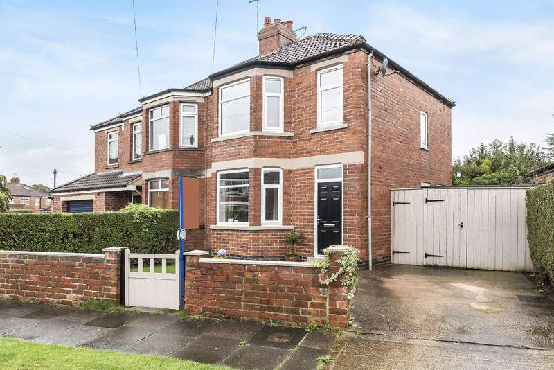 3 Bedrooms Semi Detached House for sale in Owston Avenue, York, YO10 3AH