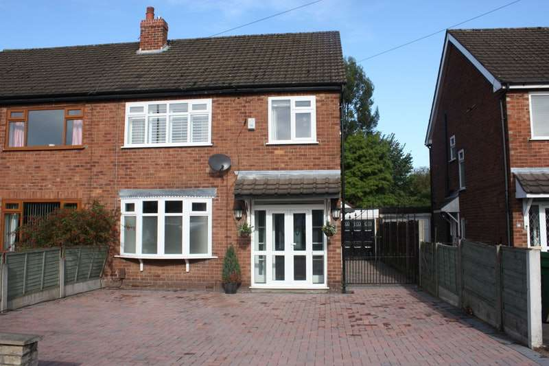 3 Bedrooms Semi Detached House for sale in Finney Lane, Cheadle, Greater Manchester, SK8