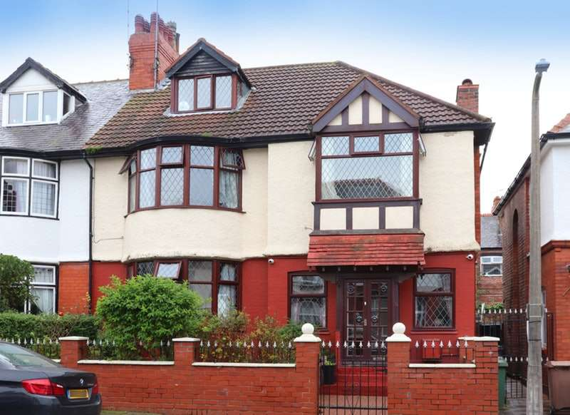 6 Bedrooms Semi Detached House for sale in Seafield Drive, New Brighton, Merseyside, CH45