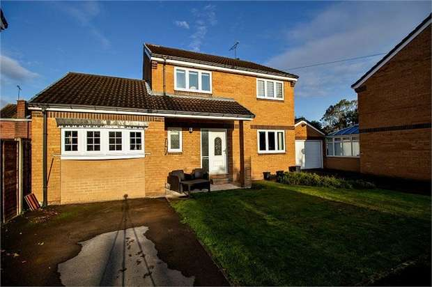 3 Bedrooms Detached House for sale in Colonel Ward Drive, Swinton, Mexborough, South Yorkshire