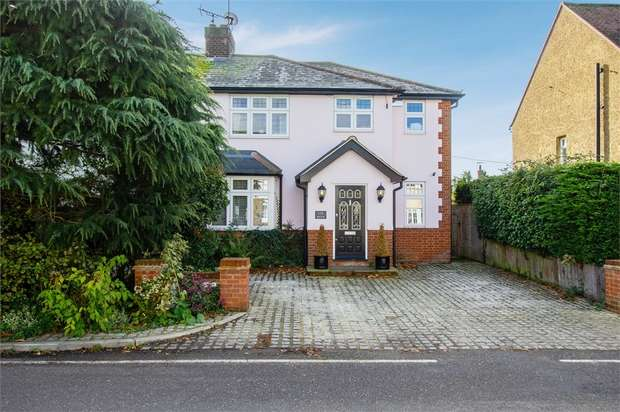 3 Bedrooms Semi Detached House for sale in Mill Road, Stock, Ingatestone, Essex