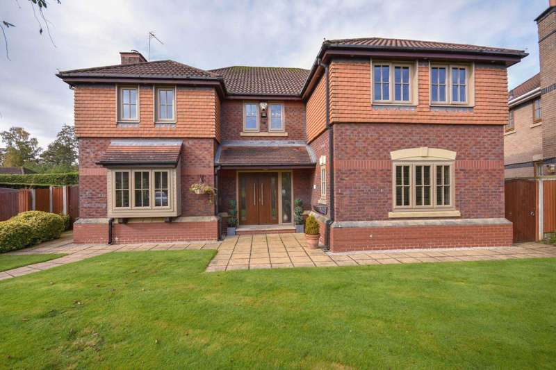 5 Bedrooms Detached House for sale in MELROSE CRESCENT, POYNTON